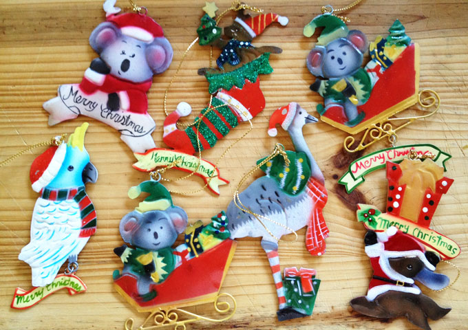 Australian christmas tree decorations for Australian decoration